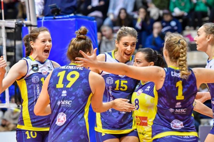 Champions League femminile: vince Scandicci