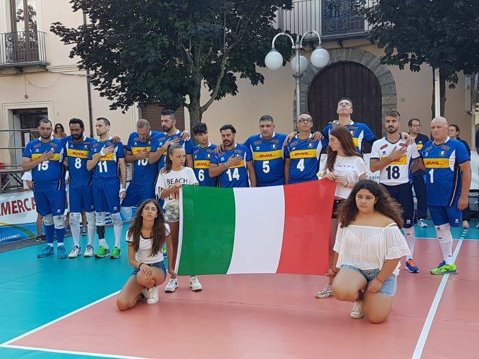Sitting Volley: l'Italia chiude la Nerulum Cup al secondo posto in classifica