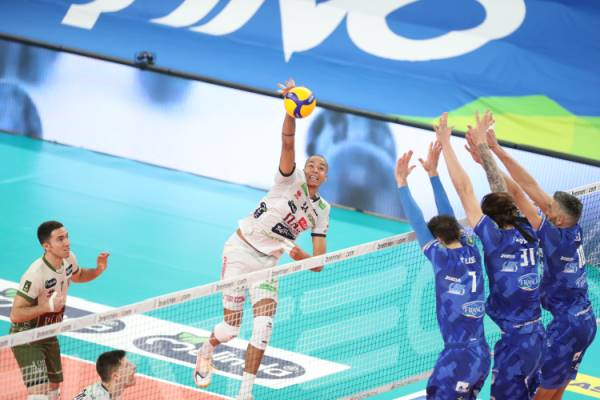 Anticipi SuperLega maschile: vincono Trento e Civitanova
