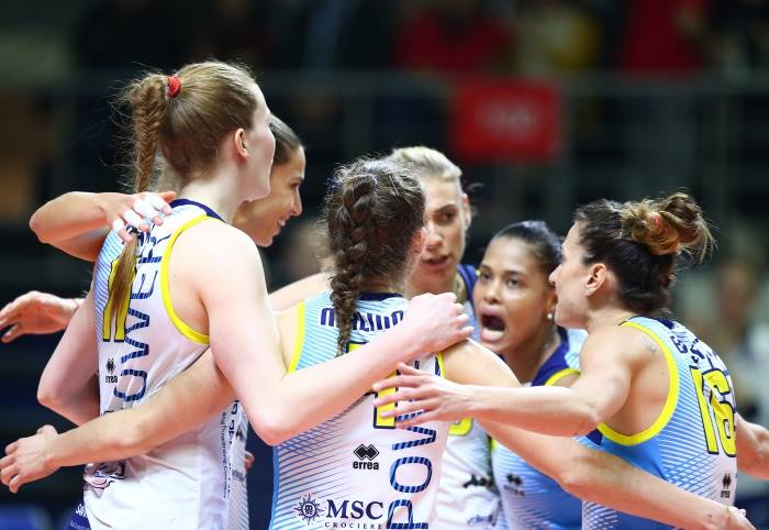 Champions League femminile: Scandicci sconfitta dal Fenerbahce al tie-break ed è eliminata a testa alta