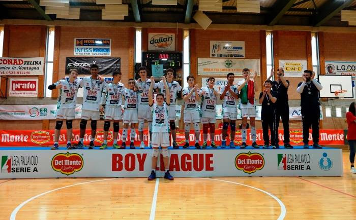 Del Monte Boy League: Trento campione