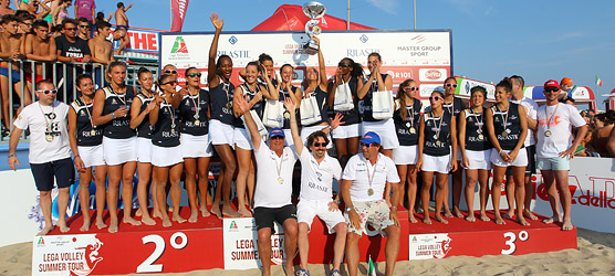 20° Campionato Italiano beach volley femminile 4X4, vince Urbino