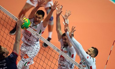 2018 Champions League maschile Final Four: Civitanova Marche vola in finale contro Kazan che ha superato Perugia 3-0