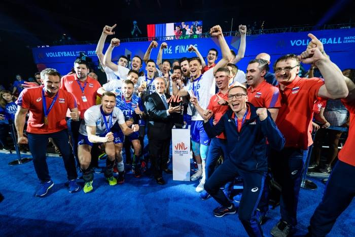La Russia ha vinto la Volleyball Nations League maschile 2019