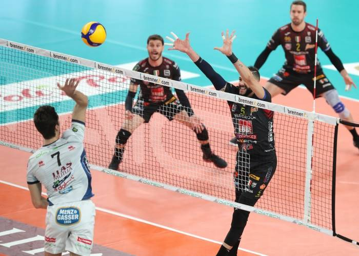 Champions League maschile: Civitanova batte Trento in tre set