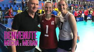 Micha Hancock e Megan Courtney a Novara