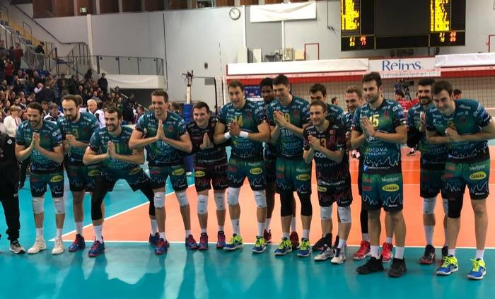 Champions League maschile: Perugia si impone a Chaumont al tie break