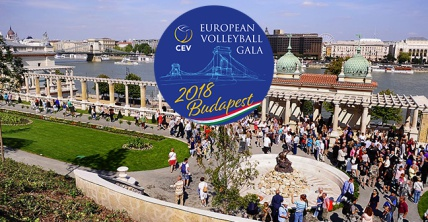 A Budapest l'European Volleyball Gala Cev