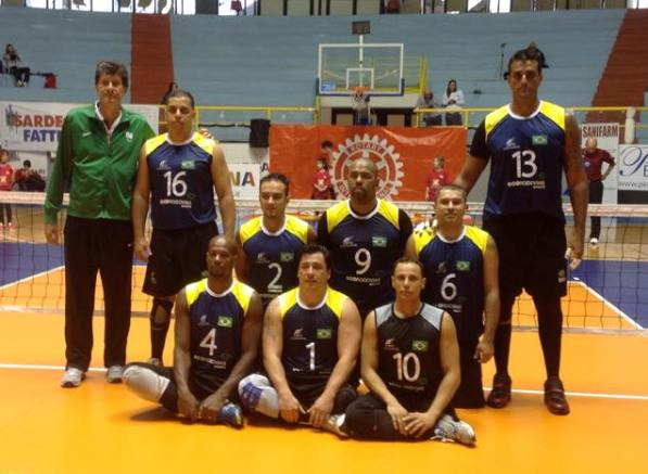 A Cagliari 1st International Rotary Sitting Volley Cup