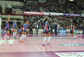 A1 femminile: Novara batte Modena 3-1, quarta vittoria consecutiva e primato in classifica