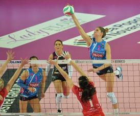 A1 femminile: Novara passa a Scandicci al tie-break e sale a +6 su Modena