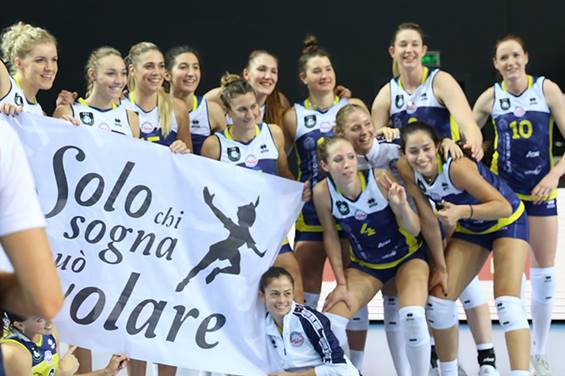 Cev Champions League femminile: Scandicci vince in Turchia