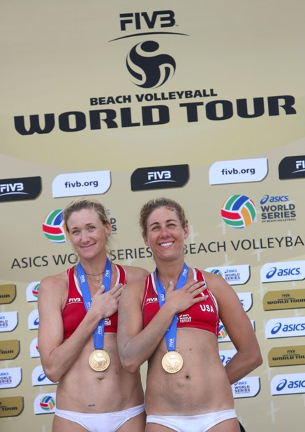 Al Long Beach Grand Slam oro alle americane Walsh-Ross