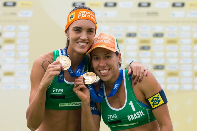 Al The Hague Grand Slam oro alle brasiliane Lima-Fernanda