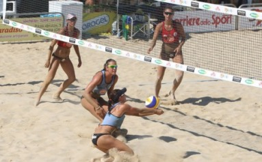 Al via il Campionato Italiano Del Monte Beach Volley 2012