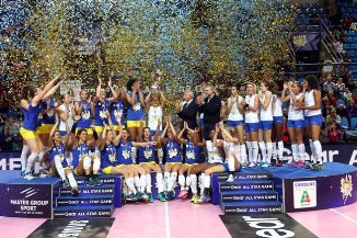 All Star Game femminile: festa al PalaCattani, vincono le Blue Stars