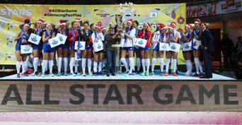 All Star Game femminile: vincono le Stelle italiane