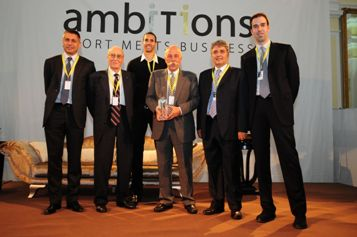"Alla Trentino Volley l'Ambitions Awards 2010 ""Testimonial of the year"""