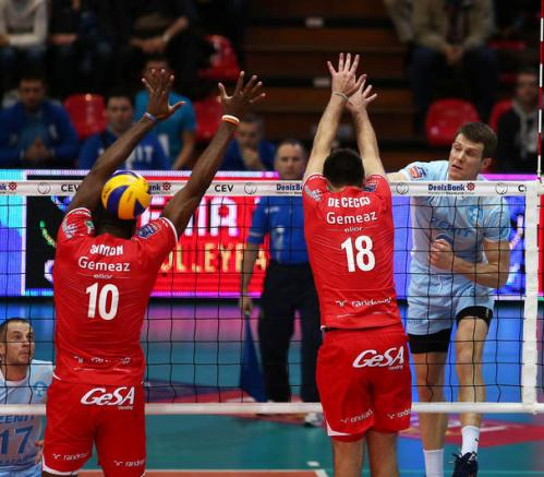 Andata PlayOffs 6 Champions League maschile, Piacenza superata 3 a 0 dallo Zenit Kazan