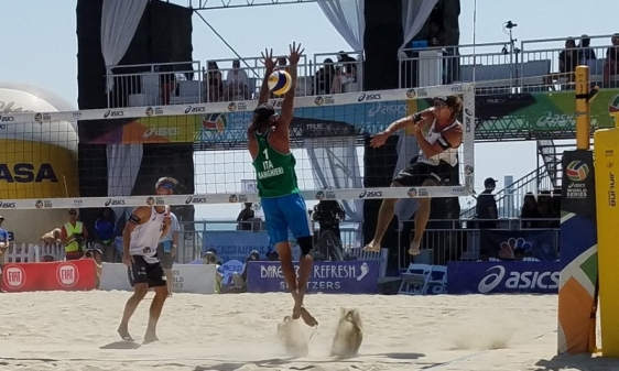 Beach Gr. Slam Long Beach: per Caminati-Ranghieri 4° posto