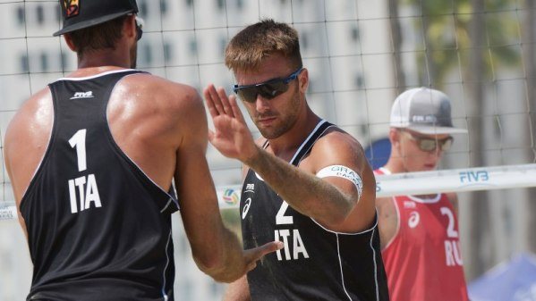 Beach Gr. Slam Long Beach: Ranghieri-Caminati battuti all'esordio