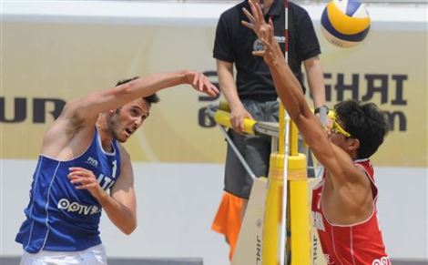 Beach Grand Slam Shanghai - Nicolai-Lupo vincono la pool