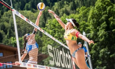 Beach Major Gstaad: Menegatti-Orsi Toth ai quarti