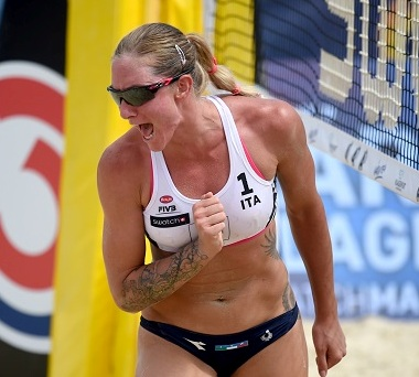 Beach Major Klagenfurt: 17° posto per Perry-Giombini