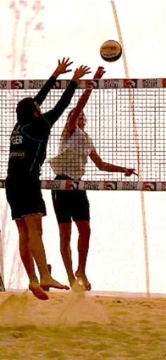 Beach Volley Fipav Young, un esordio da campioni