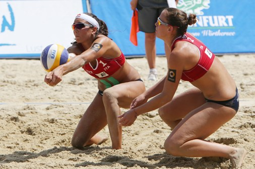 Beach Volley: le coppie italiane in campo nel Major di Porec