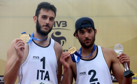 Beach Volley: Lupo-Nicolai entrano nella storia, primo posto all'Open di Fuzhou