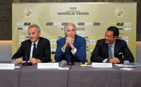Beach volley: presentato a Roma lo smart Grand Slam