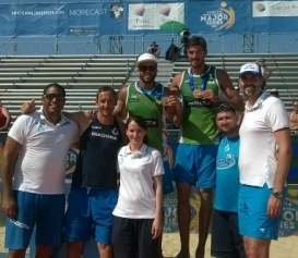 Beach Volley: Ranghieri-Carambula sul podio del Major di Porec