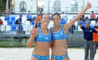 Beach Volley World Cup: le azzurre superano l'Uruguay