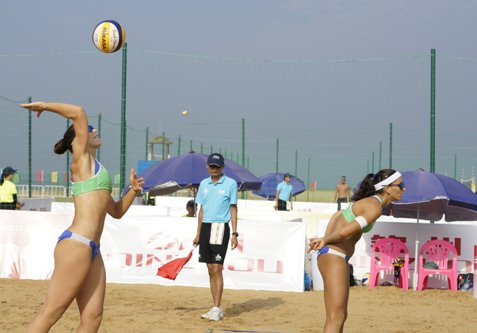 Beach Volley World Tour 3 stelle Qinzhou: avanzano Menegatti/Orsi Toth