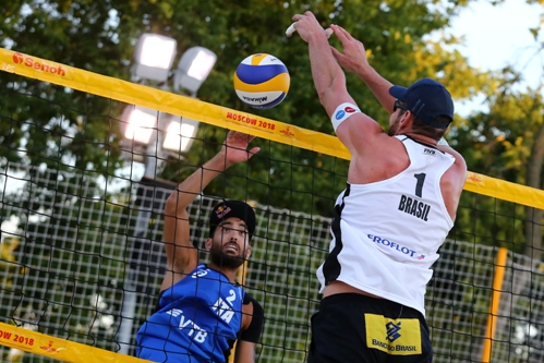Beach Volley World Tour Mosca: bene Lupo/Nicolai