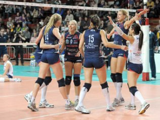 Bene Novara in Coppa Cev