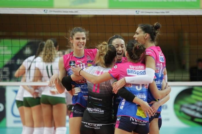 Champions League femminile: Novara vince in Ucraina