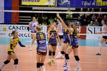 Champions League femminile: Conegliano e Novara in campo per conquistare la Final Four
