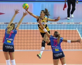 Champions League femminile: la Igor lotta in Turchia, ma cede 1-3 al VakifBank