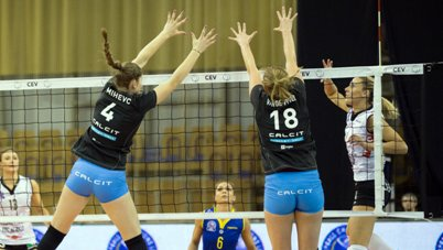 Champions League femminile: Modena vince 3 a 0 in Slovenia