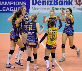 Champions League femminile Play Off 6: vincono Novara e Conegliano