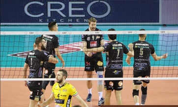 Champions League maschile: Civitanova batte Modena 3-0 e stacca il pass per la Final Four di Roma. In Semifinale troverà Perugia. Qualificate anche il Berlin Recycling e Zenit Kazan