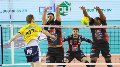 Champions League maschile: Civitanova supera Modena 3 a 0