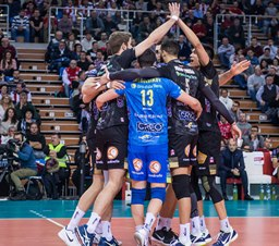 Champions League maschile: Civitanova vince 3 a 0 a Resovia