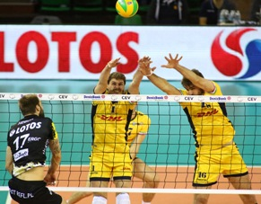 Champions League maschile: Dhl Modena Volley vince 3 a 0 con Gdansk