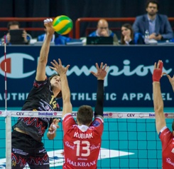 Champions League maschile: la Sir Safety Perugia supera 3 a 1 l'Halkbank Ankara