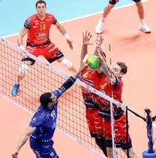 Coppe Europee maschili: in Champions League iniziano i PlayOffs 12, italiane tutte in trasferta, super Perugia. In Cev e Challenge Cup scatta la prima sfida di semifinale, perde Verona
