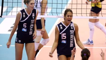Coppe Europee: Villa Cortese supera Bergamo in Champions League, Busto ok in Cev Cup