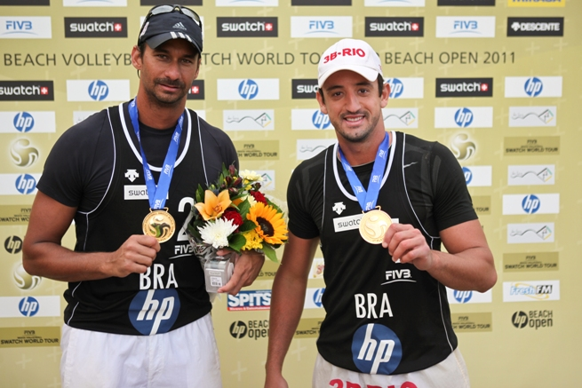 Cunha-Ricardo vincono all'HP Beach Open